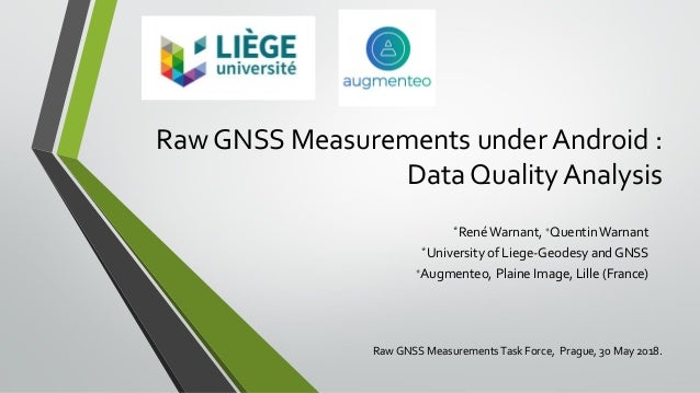 Raw GNSS Measurements under Android : Data Quality Analysis