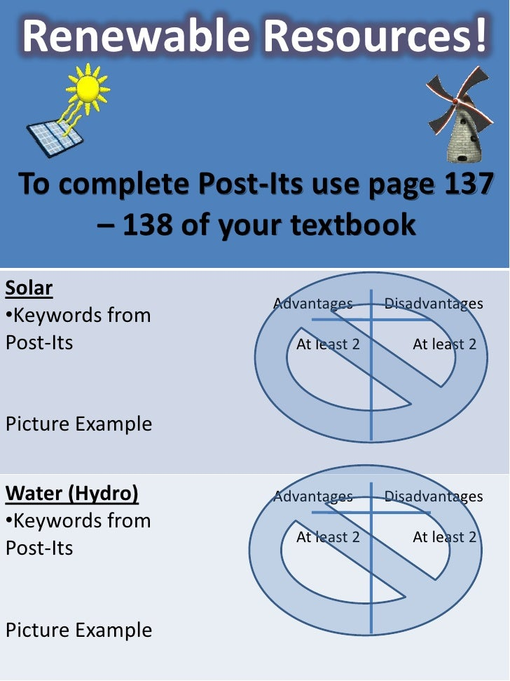 To complete Post-Its use page 137 – 138 of your textbook<br />Advantages        Disadvantages<br />      At least 2 At le...