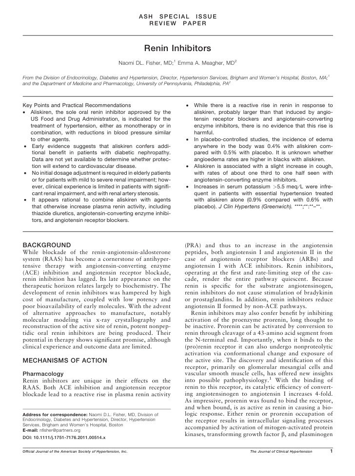 ASH SPECIAL ISSUE                                                                  REVIEW PAPER                           ...