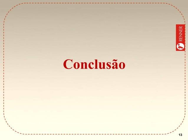 Conclusão  13