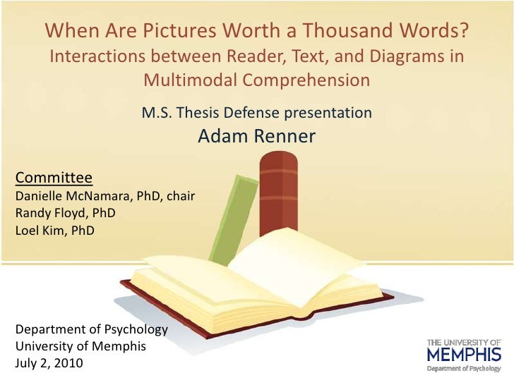 When Are Pictures Worth a ThousandWords?Interactions between Reader, Text, and Diagrams in Multimodal Comprehension<br />M...