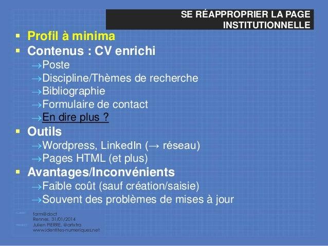 l u0026 39 identit u00e9 num u00e9rique du chercheur   panorama des outils et
