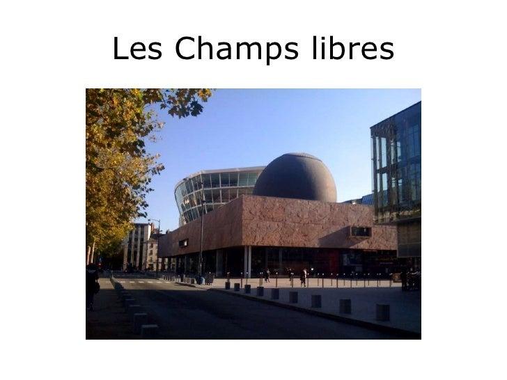Horaires Cafe Champs Libres