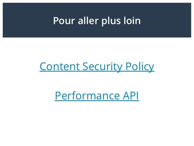 Outils OpenSource / Gratuit www.webpagetest.org Riche fonctionnellement mais parfois complexe. Pas de monitoring.