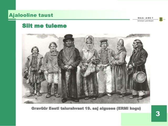 Eesti maaõigus eile ja täna – Triinu Rennu, Maa-amet Slide 3