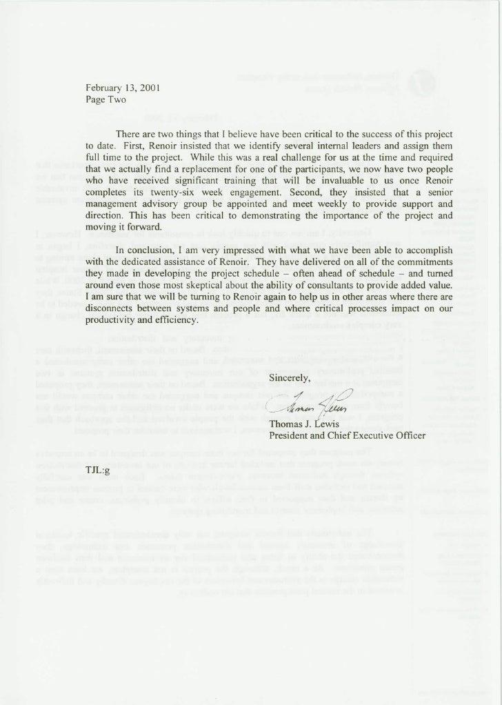 renoir case study  u0026 reference letter thomas jefferson