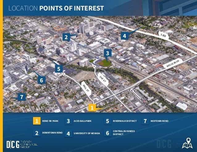FOR SALE RENO RV PARKINFILL DEVELOPMENT SITE - Street map of reno nv
