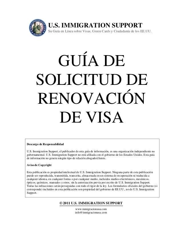U.S. IMMIGRATION SUPPORT                  Su Guía en Línea sobre Visas, Green Cards y Ciudadanía de los EE.UU.         GUÍ...