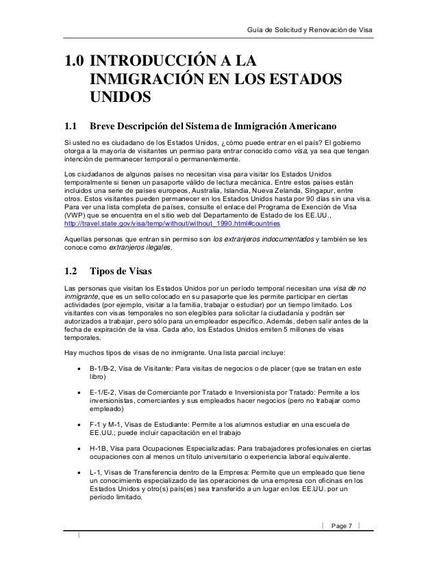 Renovacion De Visa 2 1