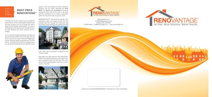 Renovantage - Certified general contractors Toronto guarantees quality renovationservices, risk free! Find us at http://re...