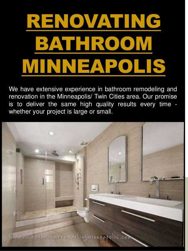 Bathroom Remodel Minneapolis Gorgeous Minneapolis Bathroom Remodel