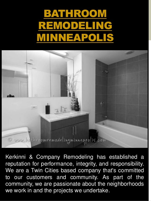 Bathroom Remodel Minneapolis - Bathroom remodel mn