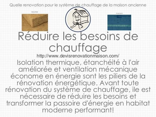 ventilation maison ancienne dans le cadre de rnovaction. Black Bedroom Furniture Sets. Home Design Ideas