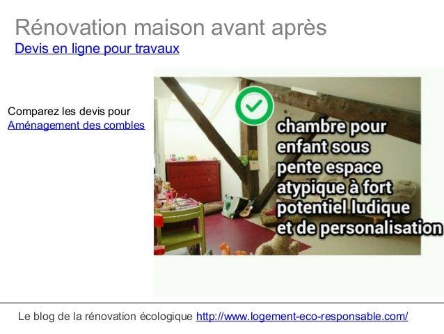 Renovation maison avant apres for Renovation maison avant apres