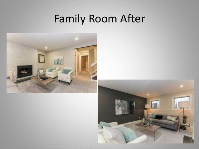 Housecharming renovation before and after presentation for Living room renovation before and after
