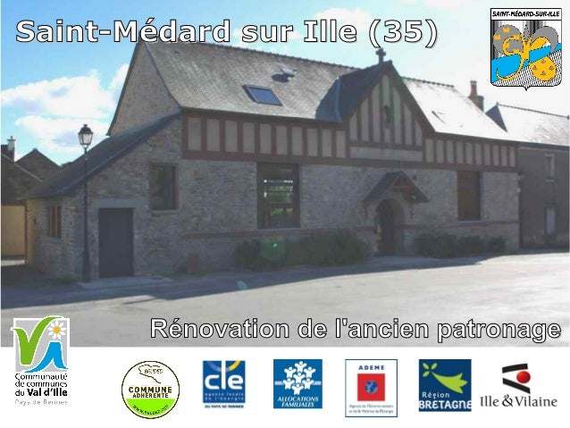 Rénovation de l'ancien patronageRénovation de l'ancien patronage Saint-Médard sur Ille (35)Saint-Médard sur Ille (35)