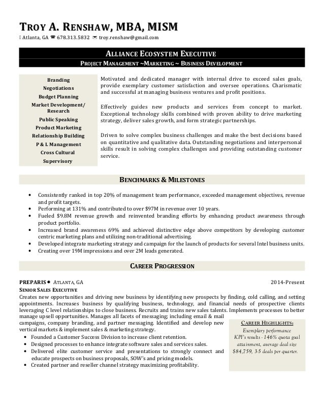 Renshaw resume (alliance)