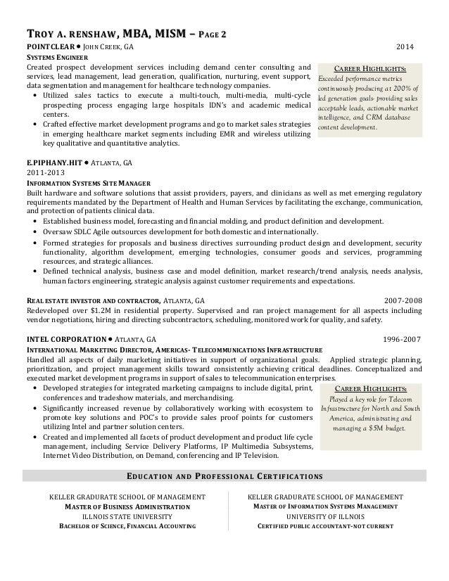 highlights on resume