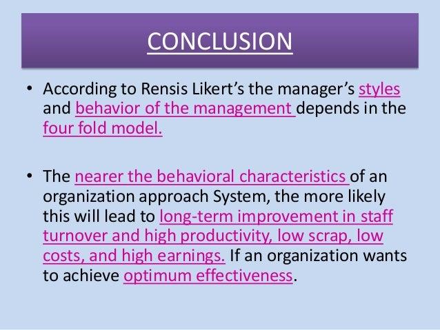 rensis likert theory