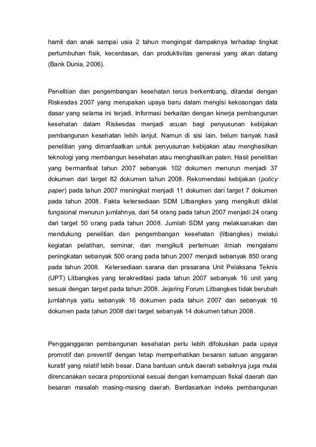 laporanNasional Riskesdas 2007