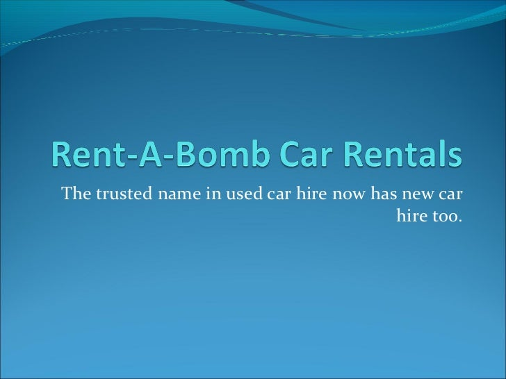 The trusted name in used car hire now has new car                                         hire too.