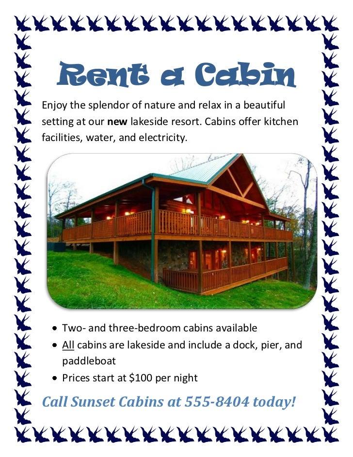 Rent A Cabin Fernando Brua