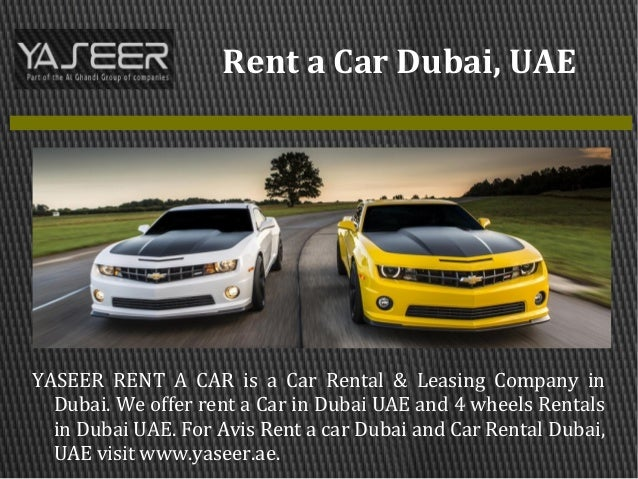 Company Car Leasing Dubai