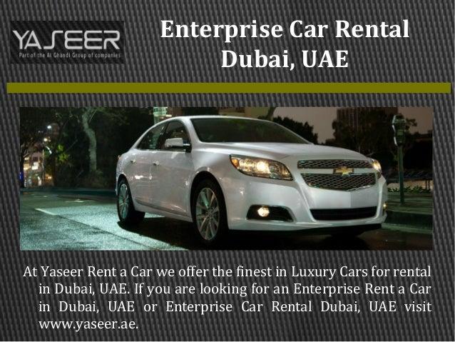 Enterprise Rent A Car Rental Requirements