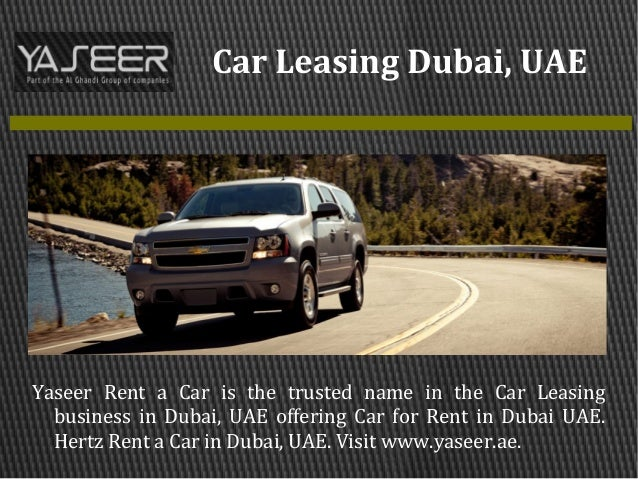 Car Hire Dubai Marina