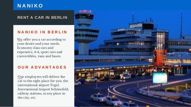 Rent a car in berlin munich frankfurt for Berlin tegel rent a car