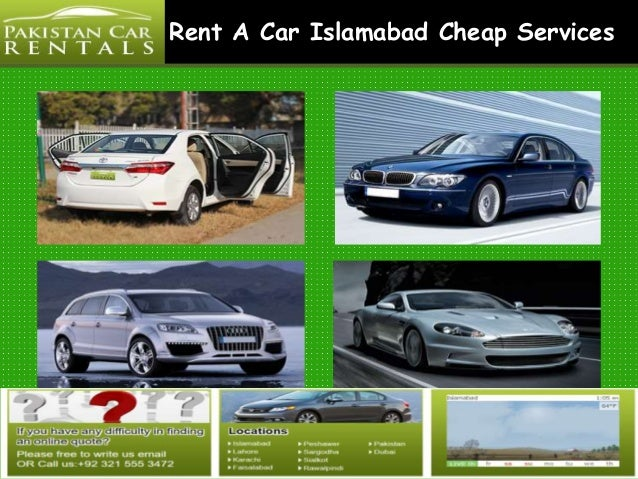 Car Hire Islamabad