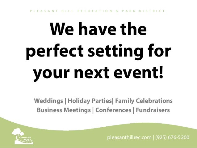 We have the perfect setting for your next event! Weddings | Holiday Parties| Family Celebrations Business Meetings | Confe...