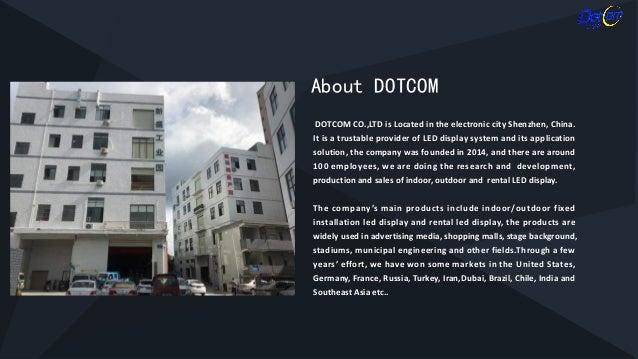 Rental led display dotcom