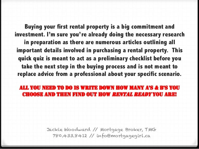 quiz are you ready to buy your first rental property. Black Bedroom Furniture Sets. Home Design Ideas