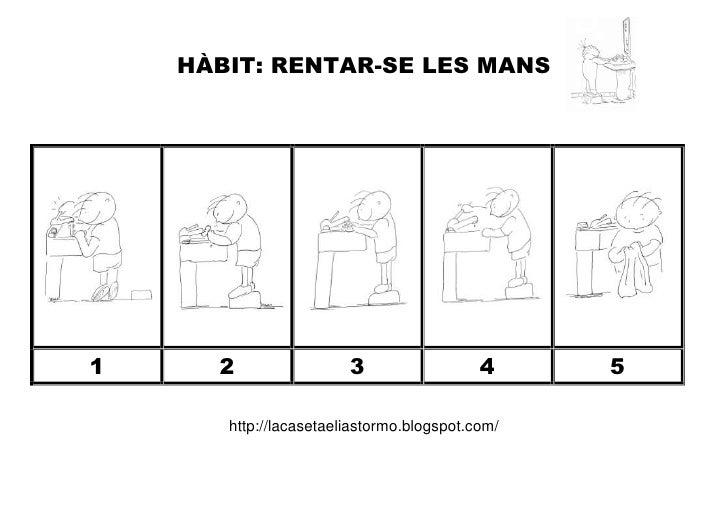 HÀBIT: RENTAR-SE LES MANS1     2                 3                  4     5       http://lacasetaeliastormo.blogspot.com/
