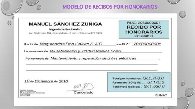 Diapositivas rentas 4 ta categoria for Honorarios arquitecto