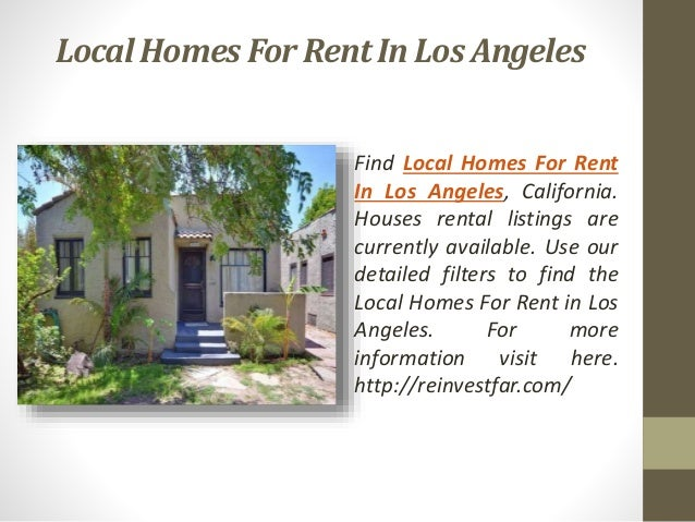 Rent house or apartment