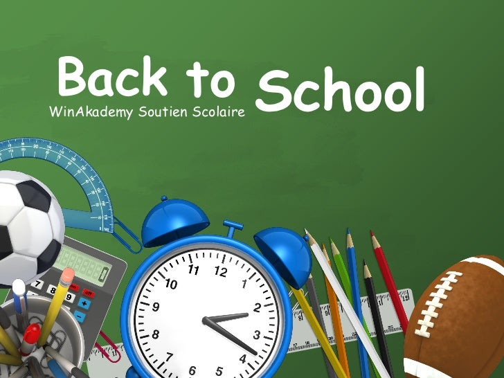 Back to SchoolWinAkademy Soutien Scolaire