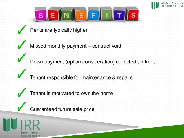 The power of RentToOwn – Rent to Own Home Contract