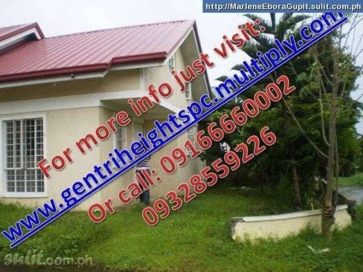 Rent to own houses loanable thru bank or pag ibig financing
