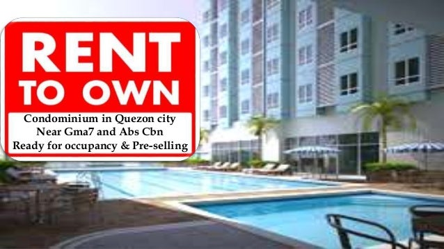 Condominium In Quezon City Near Gma7 And Abs Cbn Ready For Occupancy U0026  Pre Selling ...