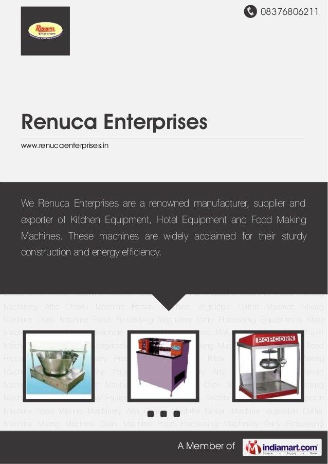 08376806211A Member ofRenuca Enterpriseswww.renucaenterprises.inKhoa Machine Sweets Making Machine Popcorn Machine Food Ma...