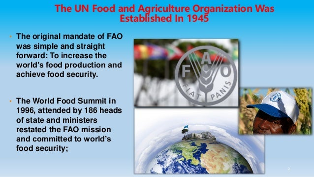 Unlocking the potential of agricultural innovations to achieve the SDGs Slide 2