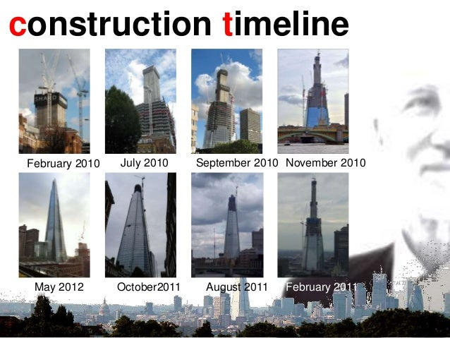 construction timeline February 2010 July 2010 September 2010 November 2010 February 2011August 2011October2011May 2012