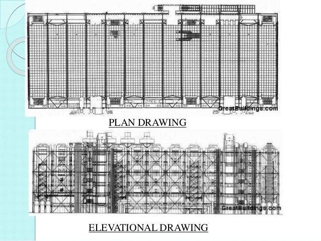 PLAN DRAWING ELEVATIONAL DRAWING