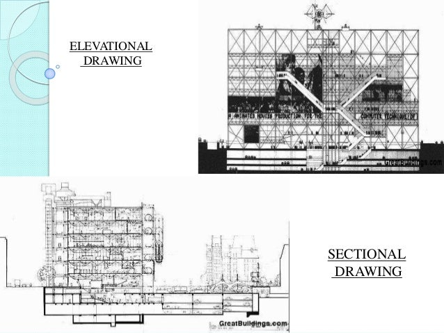 ELEVATIONAL DRAWING SECTIONAL DRAWING