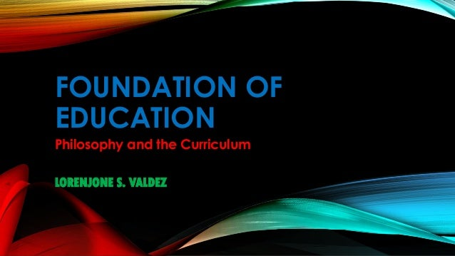 reon report on foundation of education tarlac college of agriculture