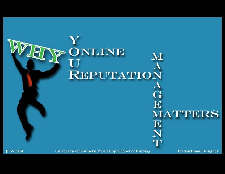 Why Online Reputation Management Matters