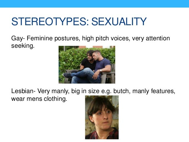 Gay lesbian stereotype