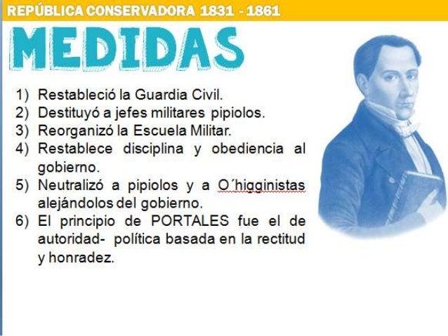 1. Ultimatúm 2. Guerra impopular 3. Sublevación, captura y asesinato de Portales (1837) 4. Aumenta entusiasmo en la Guerra...